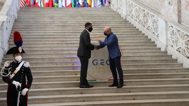 Foto: G20Italy/Handout via REUTERS