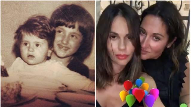 Rađa pokazala stariju sestru, raznježila fotkom iz djetinjstva
