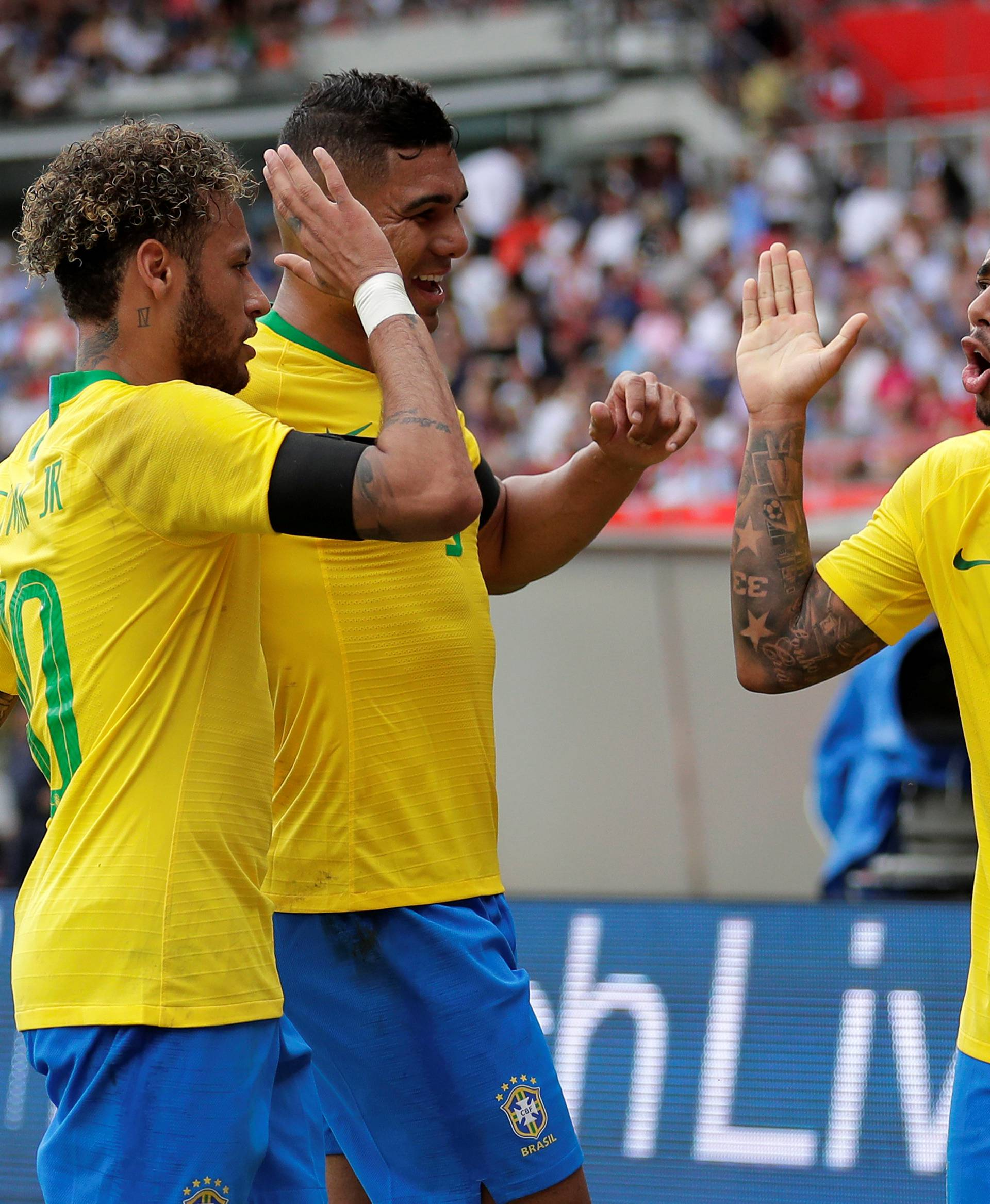 International Friendly - Austria vs Brazil