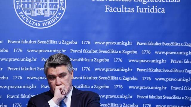 Milanović o Vladi u koronakrizi: Ja bih tražio podršku Sabora pa ne bi  izgledalo kao travestija