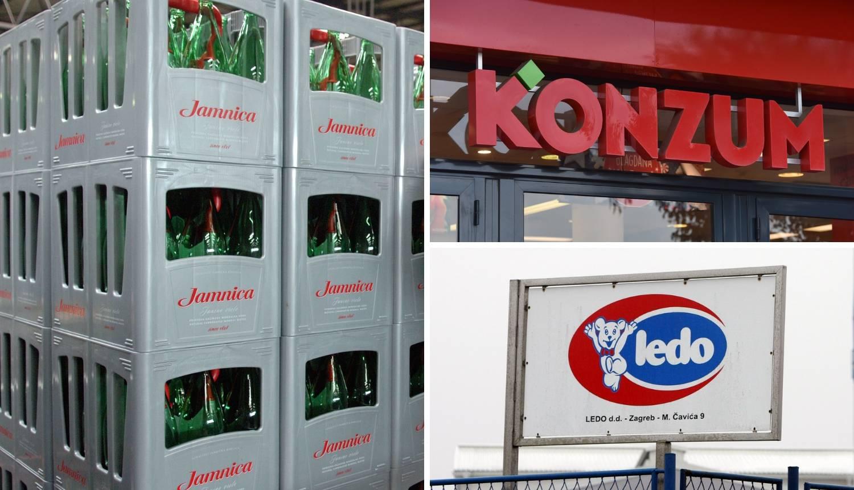 Tvrtke Agrokora mijenjaju ime: Nema više Leda, Konzuma...