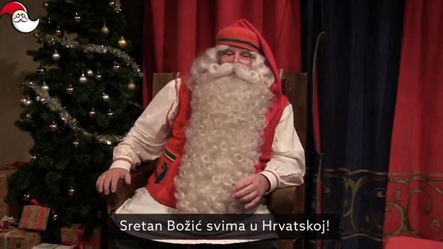 Video iz Finske: Djed Božićnjak snimio čestitku za Hrvatsku