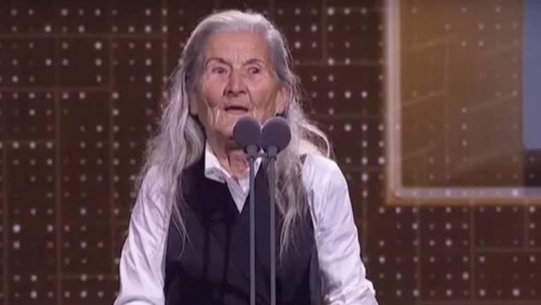 U 84. godini i bez škole postala 'najbolja nova glumica' u zemlji