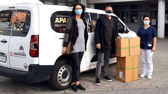 Germania donirala medicinske madrace bolnici Zabok