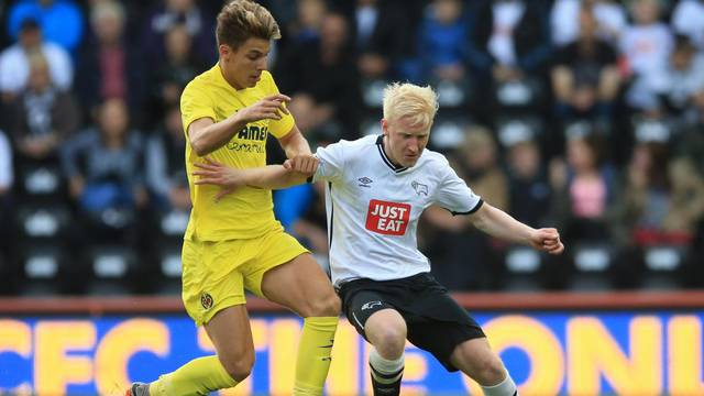 Soccer - Pre Season Friendly - Derby County v Villareal - iPro Stadium