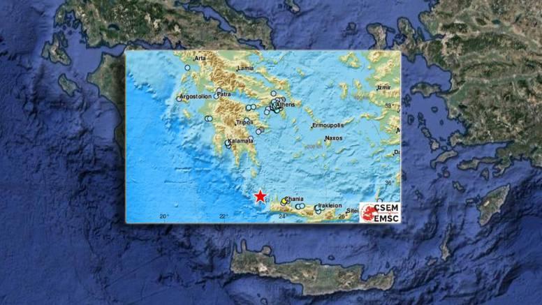 Trese se i Grčka: U dva dana u Jadranskom moru 42 potresa