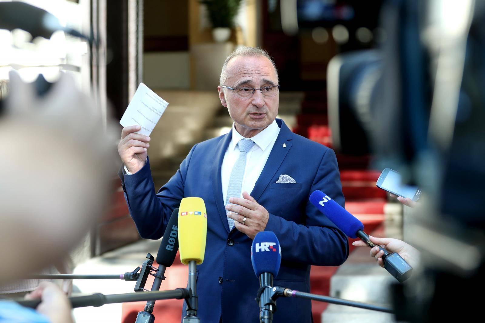 Grlić Radman: Političar mora biti otporan na provokacije
