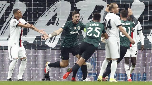 Champions League - Group C - Besiktas v Sporting CP