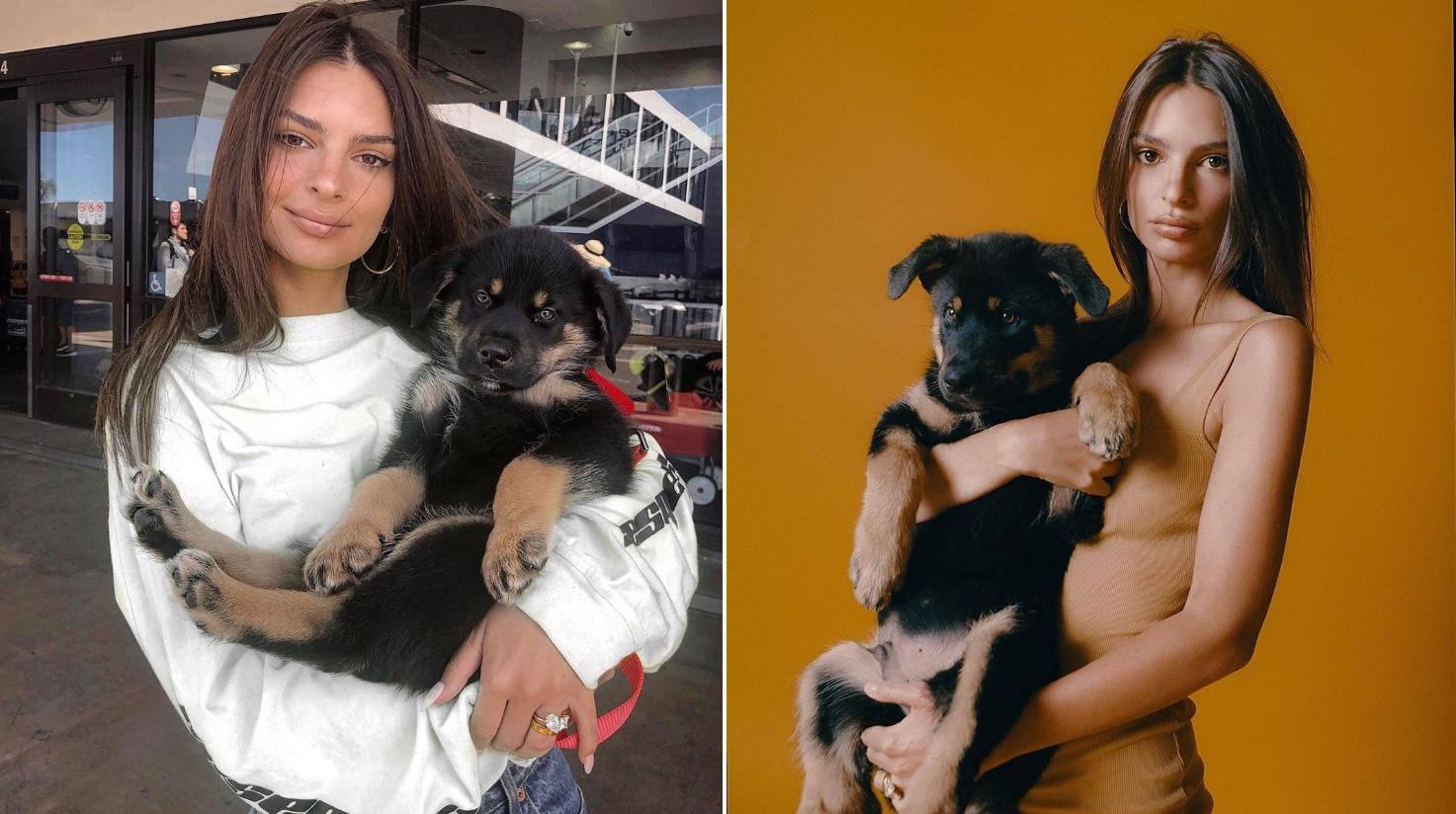 Emily Ratajkowski se obukla i pozirala s psićem Colombom