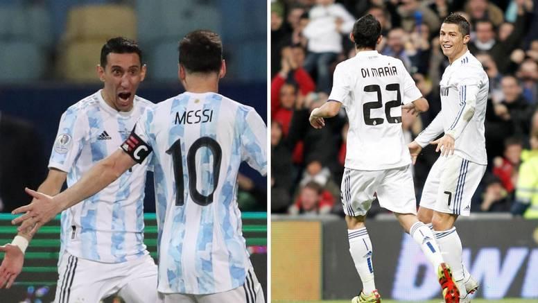 Di Maria: Ronaldo bi volio igrati za PSG. Na sreću, doveli smo Messija i to je bila bolja odluka