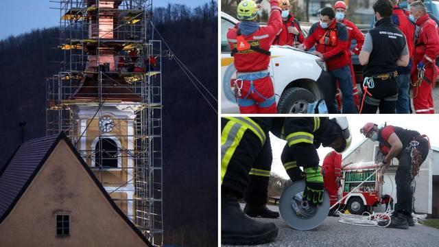 Akcija kraj Samobora: Radnik je 'zapeo' na tornju, spašavali su ga HGSS-ovci i vatrogasci...