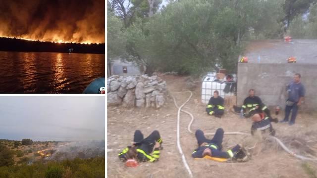 VIDEO Dramatično gašenje na Lavdari, vatrogasci premoreni: Nismo stali, stradala je oprema