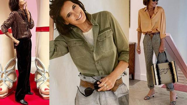 Inès de La Fressange: Odjeća služi tome da se osjećamo bolje