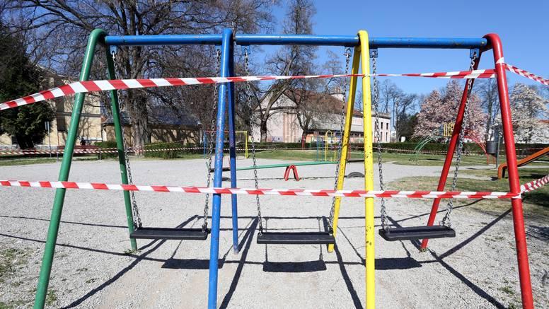Zbog korona virusa, zatvaraju dječja igrališta širom Hrvatske