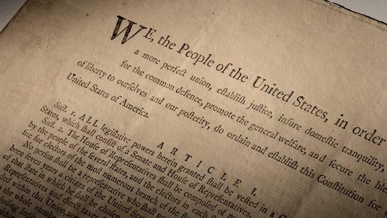 Jedna od prvih tiskanih kopija američkog Ustava na prodaju: Tražit će čak 20 milijuna dolara