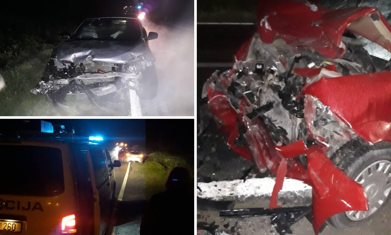 Užas kod Gradiške: Udario je u auto i rekao 'ne osjećam noge'