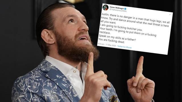 McGregor: Khabib je sramota sporta, Gaethjea ću zaklati!
