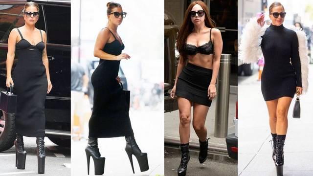 Lady Gaga opet prošetala u opasno visokim potpeticama