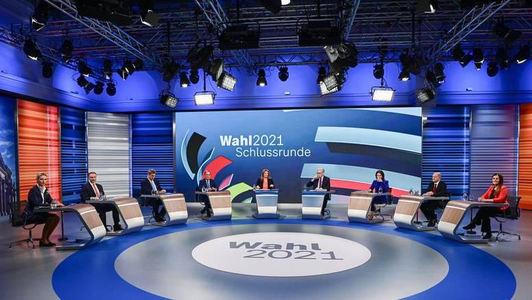 SPD blago ispred Merkeličinog CDU-a, nema vlasti bez Zelenih