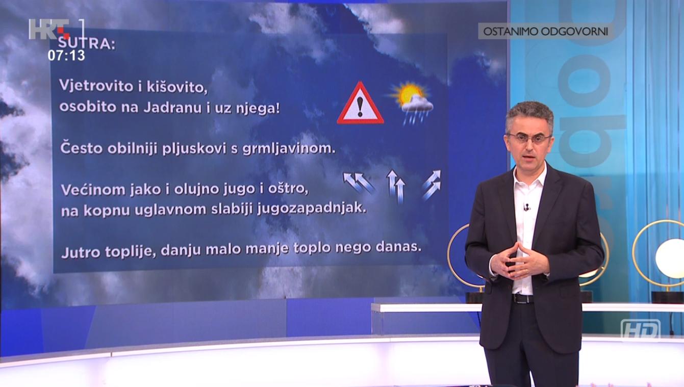 Vakula: Sutra će pasti prosječna količina kiše za cijeli lipanj, očekuju nas pljuskovi i bujice