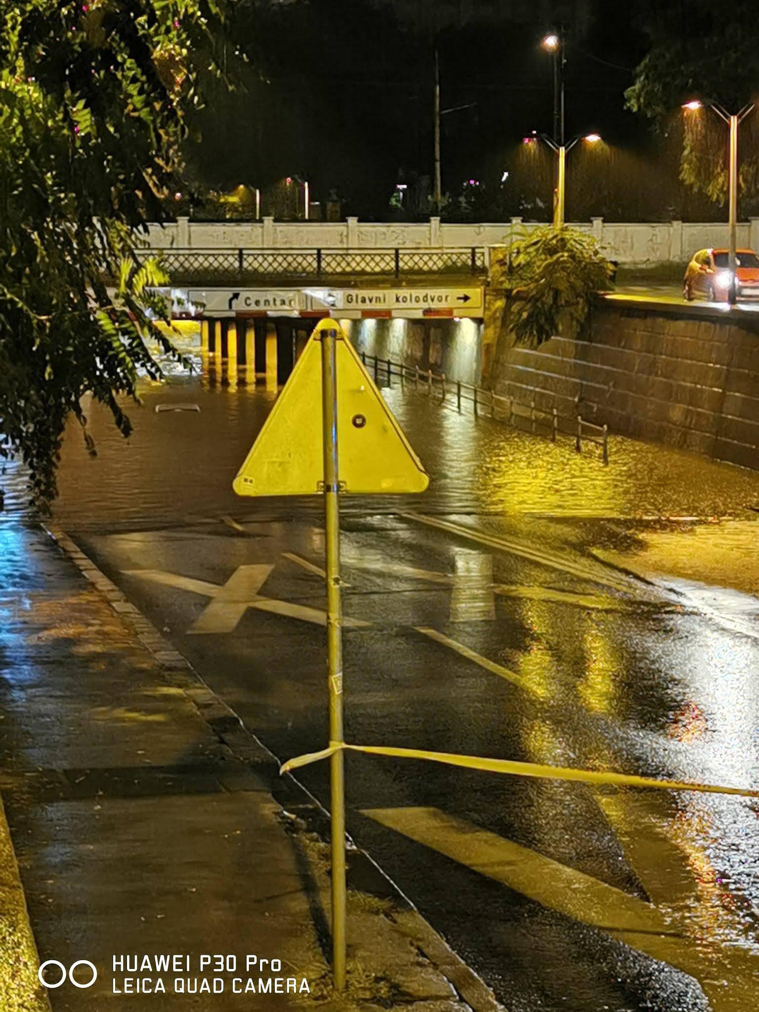 Kaos: Potop paralizirao  Zagreb!