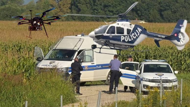 Pokušali su pregaziti policajce, jednog su uhvatili, a drugog traže helikopter i dronovi