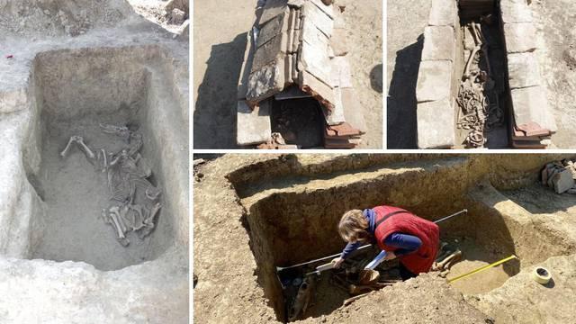 Senzacija na groblju: Iskopali kosti avarskog ratnika iz 7. st.