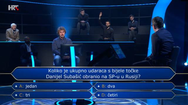 Uzeo je džoker na nogometnom pitanju: Znate li točan odgovor?