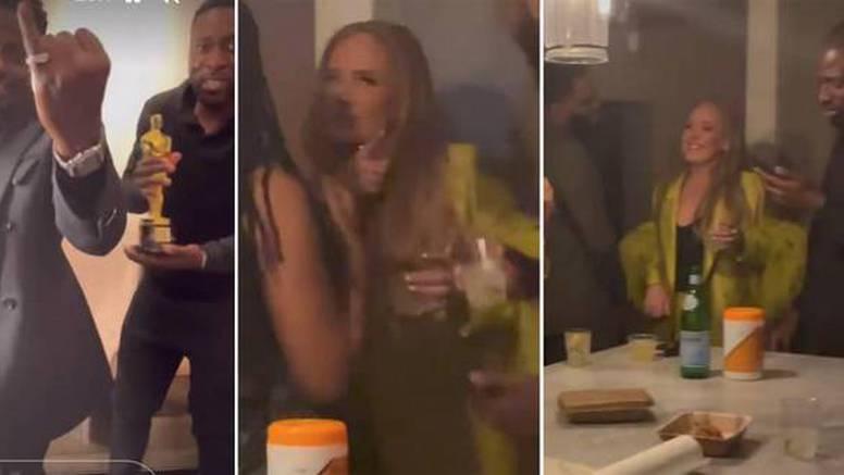Konobari snimili vitku Adele na zabavi novopečenog oskarovca, a transformacijom sve zadivila