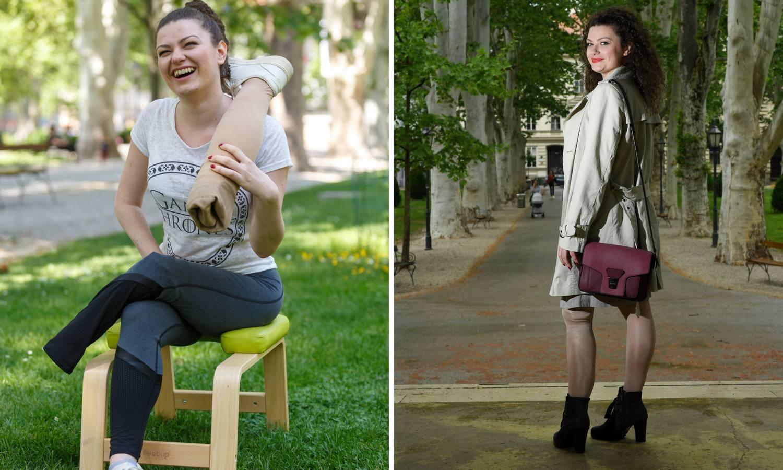 Anja nije odustala: 'Iako su mi amputirali nogu, nosim štikle'