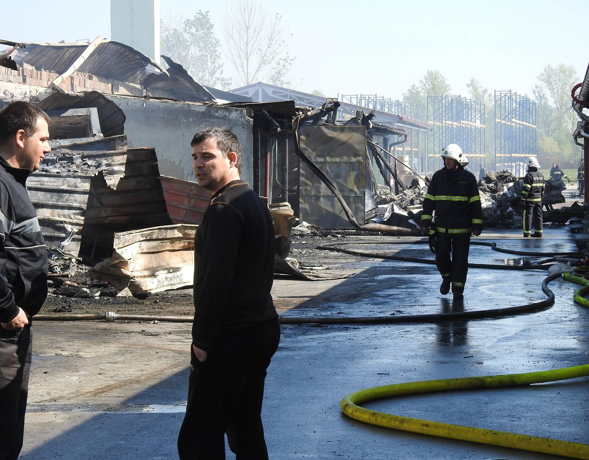 'Kako reći ljudima da ne dolaze jer su radna mjesta izgorjela'