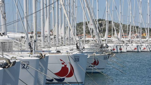 Murter: Jedrilice iz carter flote Marine Hramina spremno iščekuju prve goste