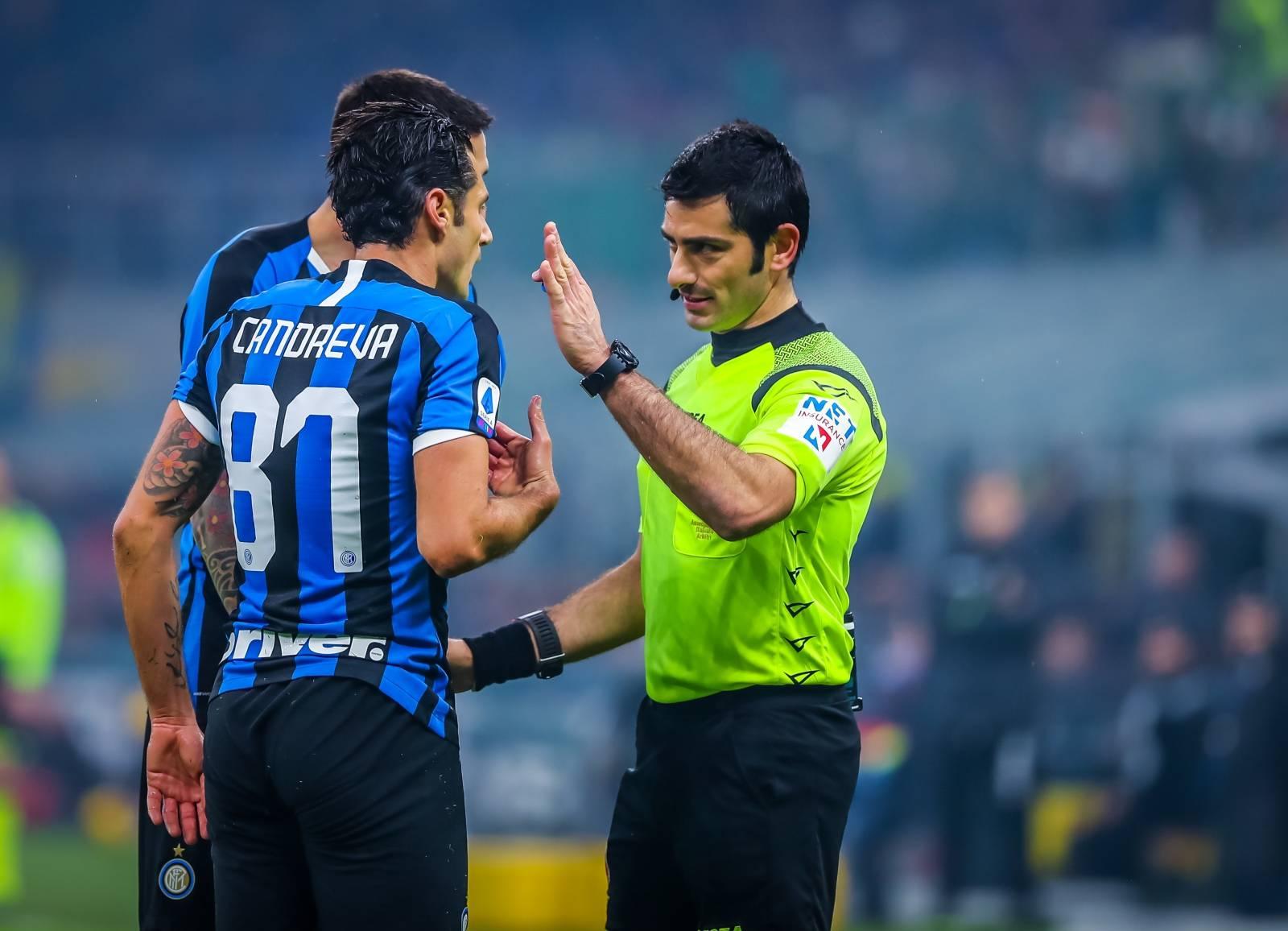 italian Serie A soccer match FC Internazionale vs AC Milan