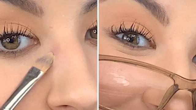 Kako se našminkati, a da vam ne ostanu tragovi od naočala? Vizažistica je otkrila super trik