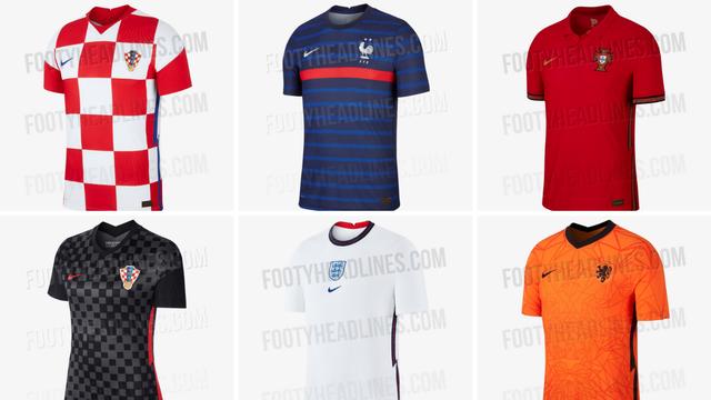 Kvadratići su opet hit: Koji je dres za Euro 2020. najljepši?