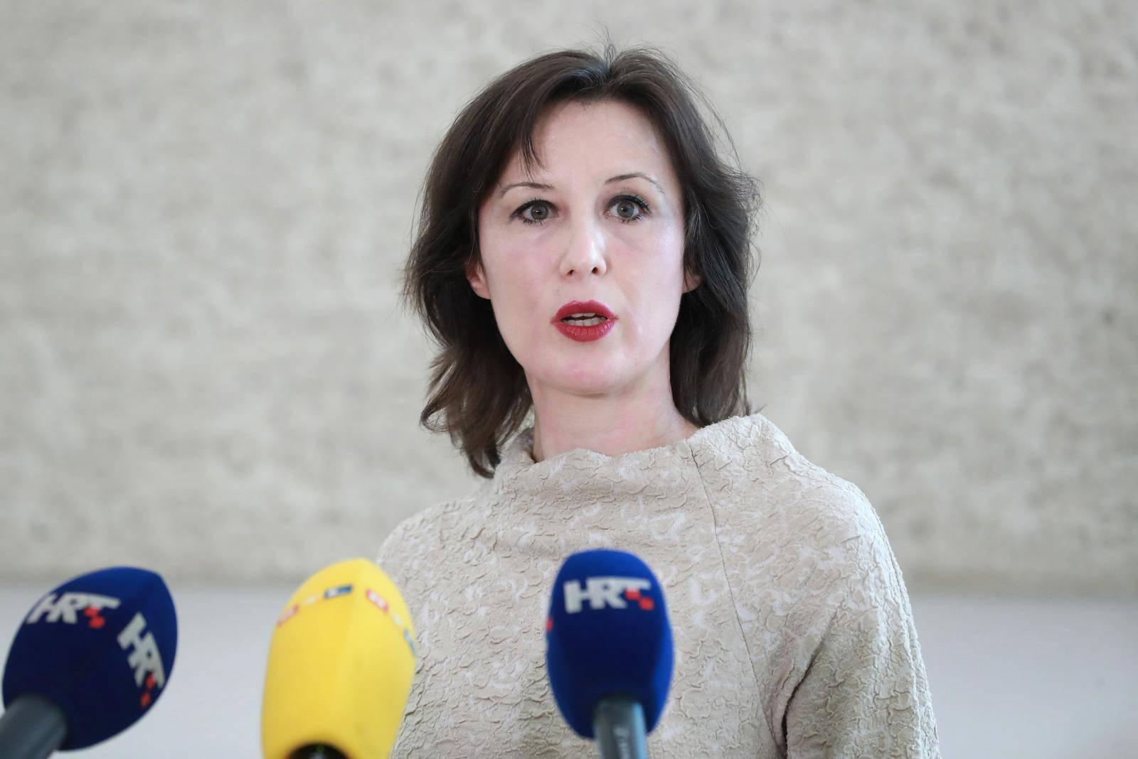 Zagreb: Dalija Orešković obratila se medijima o aktualnim temama