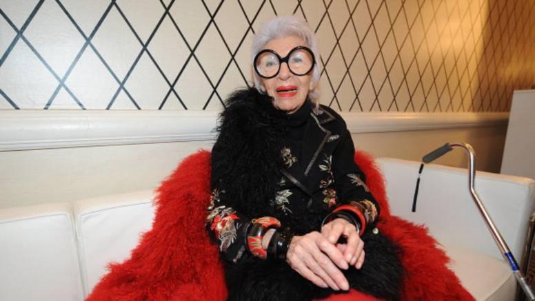 Iris Apfel navršila je 100 godina