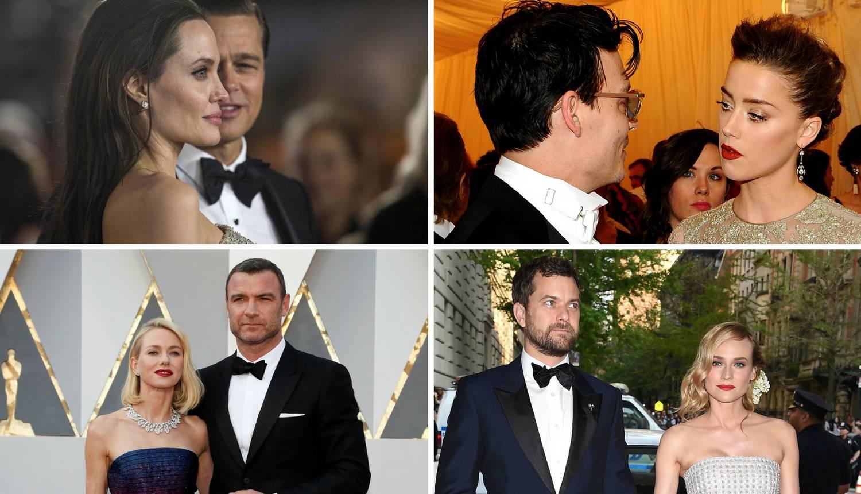 Kobna godina za ljubav: Njihovi prekidi su šokirali sve u 2016.