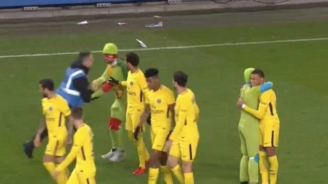 Ninja kornjače 'upale' na teren i proslavile gol s Mbappeom