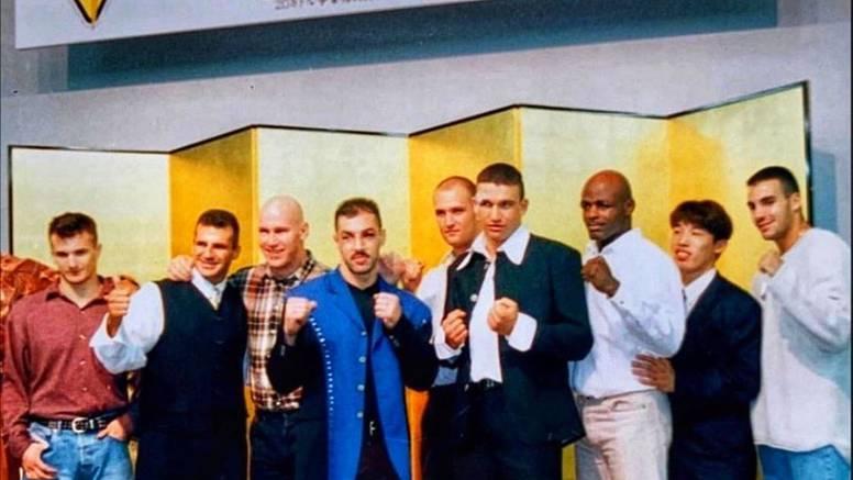 Cro Cop izvukao sliku iz '96.: Ne znaš je li jača ekipa ili moda