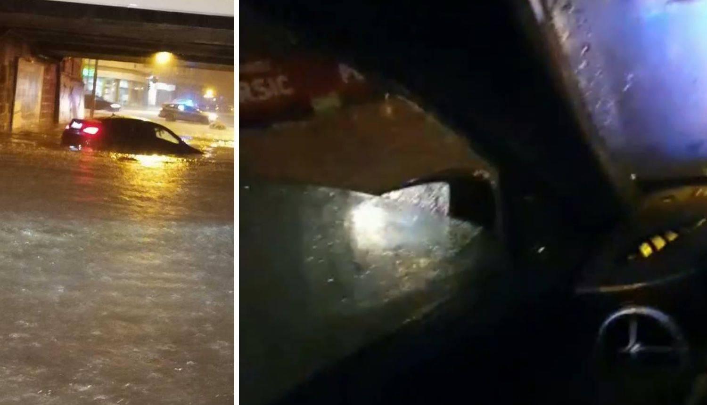 Spašavanje iz poplave: Auto je bio pun vode, nisam mogao van