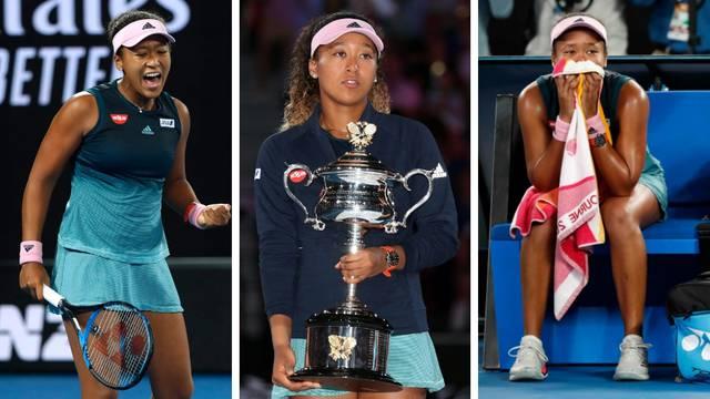 Bez Serene idu suze radosnice: Osaka uzela Australian Open