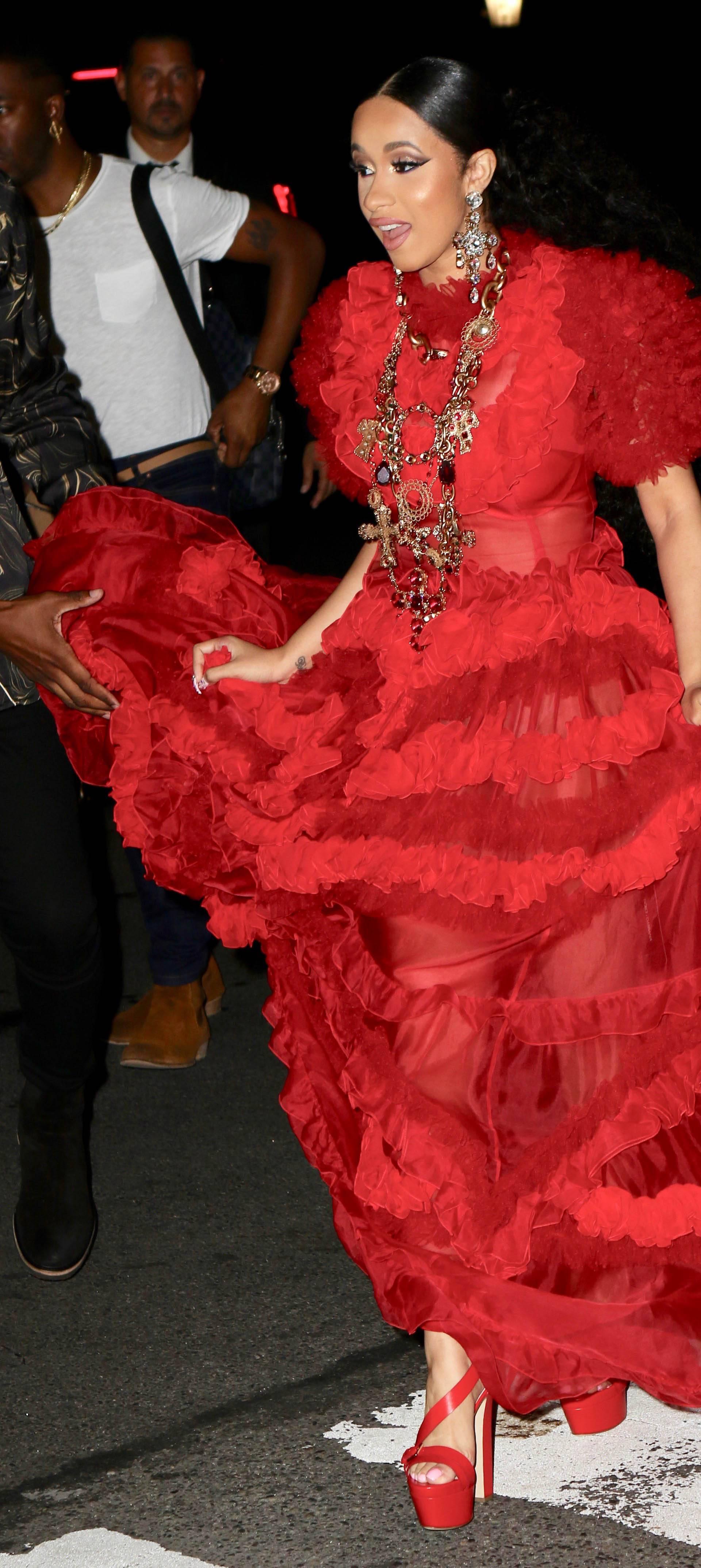 Celebrity Sightings - New York Fashion Week