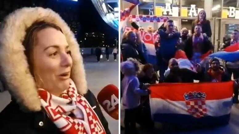 Trudnica na utakmici: Sekirali smo se, a kćer će biti Croatia!