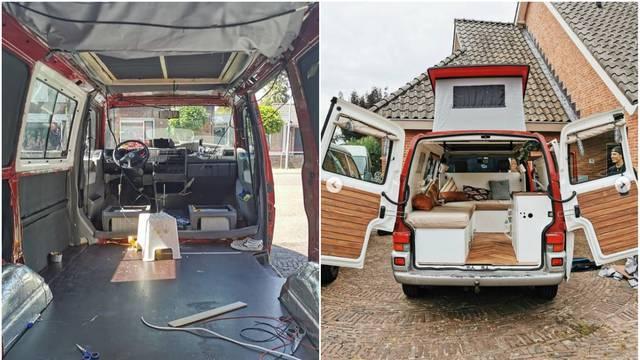 Obitelj obnovila stari kombi i pretvorila ga u raj na kotačima