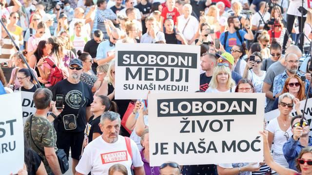 Zagreb: Na Trgu bana Jelačića održan Festival slobode