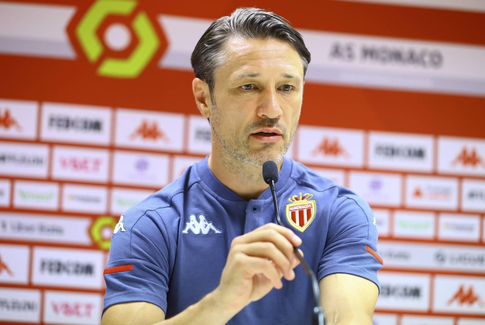 Press Conference AS Monaco - Stade Rennais FC with Niko Kovac