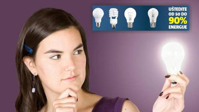 Kako odabrati pravu? Žarulja od 1600 lumena je kao 100 W