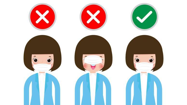 Upute: Kako ne nositi masku?