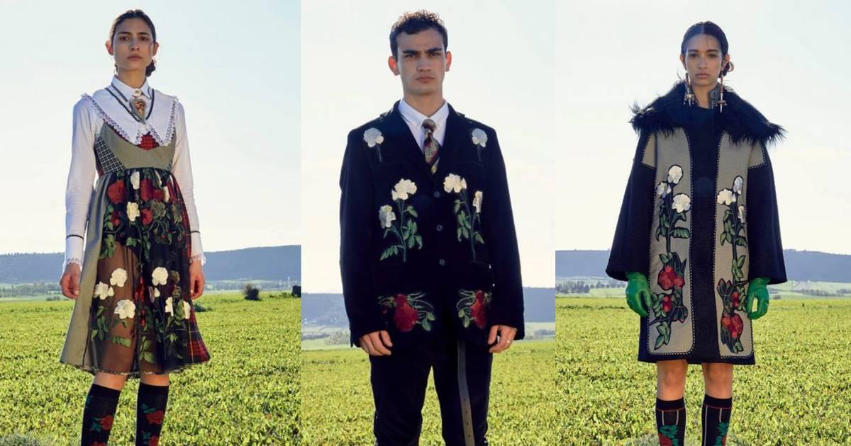 Antonio Marras odijeva modele u raskošne crvene i bijele ruže